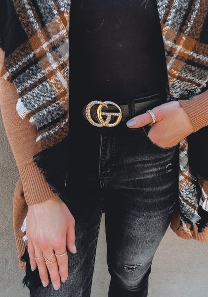 (5 colors!) The On Trend GC Sparkly Belt