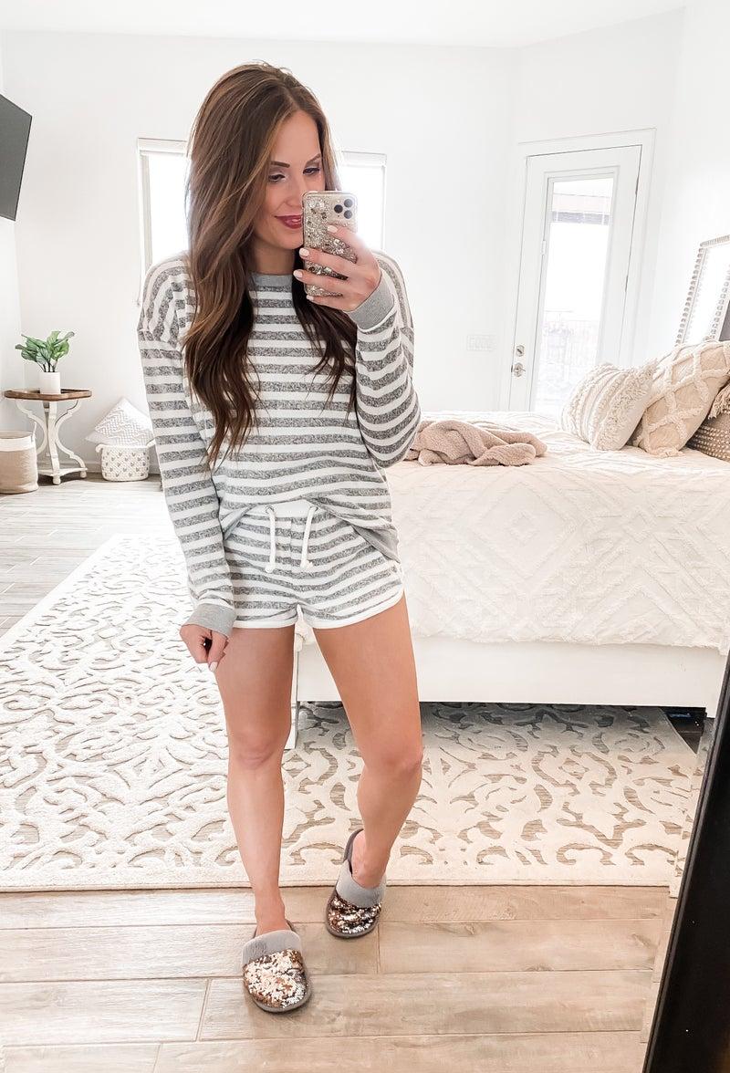 Secret Keeper Softest Stripe Long Sleeve Top
