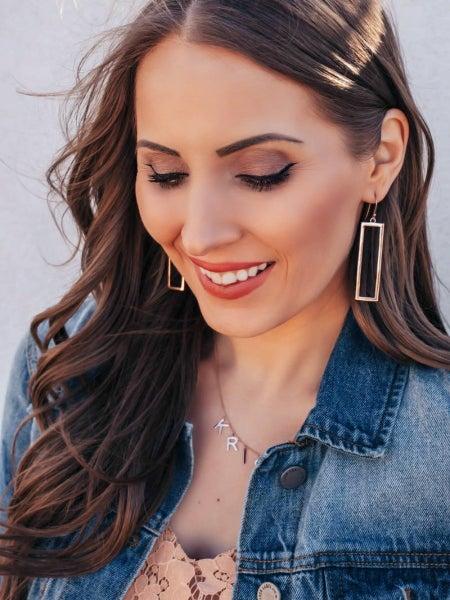 Krush Kouture: Keep An Open Mind Rectangle Earrings