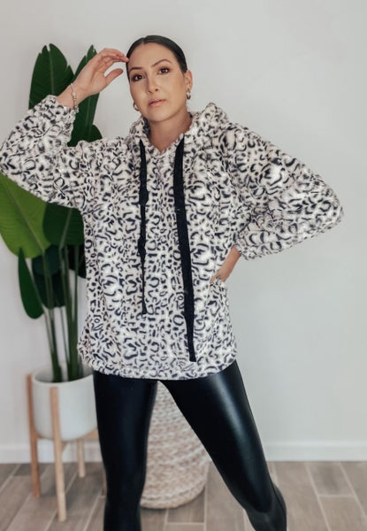 POL Whole Lotta Leopard Hoodie