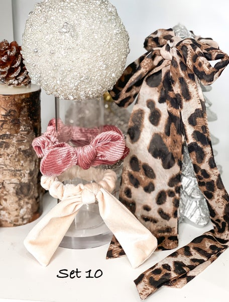 Assorted Hair Accessory Sets. 10 sets to choose from!