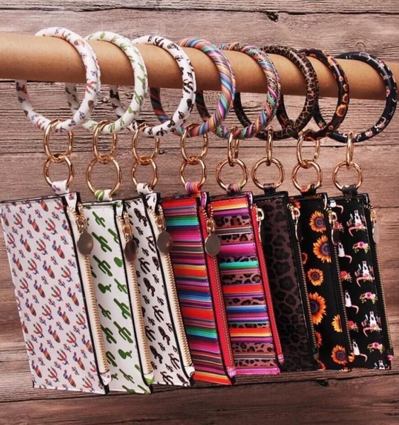 Bracelet Wallet Bangle Key Chain