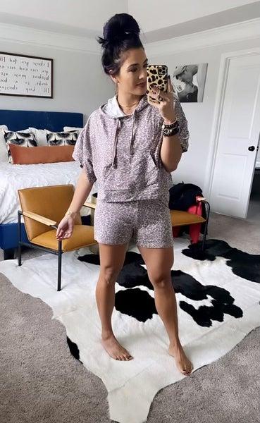 Can't Catch Me Cheetah Print Shorts