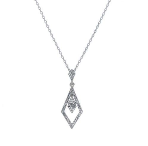 Swarovski Tie Shape Necklace