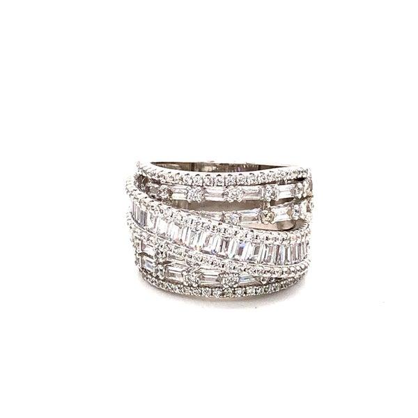Eternally Grateful Sterling Silver CZ Ring