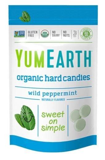 Organic Wild Peppermint Hard Candies