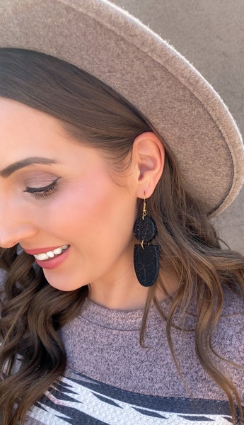 Shop-A-Holic Clay Earrings