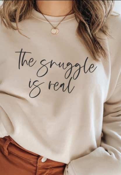 (S-3X) The Snuggle Is Real PRE-ORDER Graphic Tee