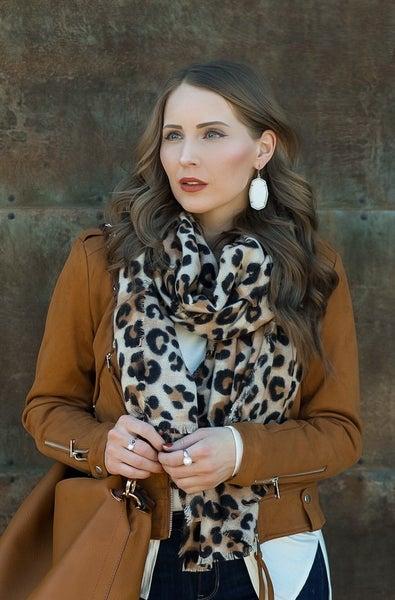 Leopard Love Blanket Scarf