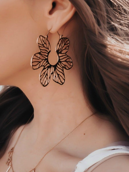 Krush Kouture: Pretty Peony Earrings