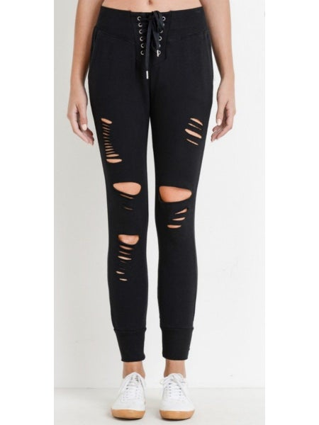 Oh So Edgy Joggers