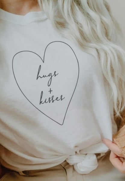 Hugs and kisses graphic PRE ORDER