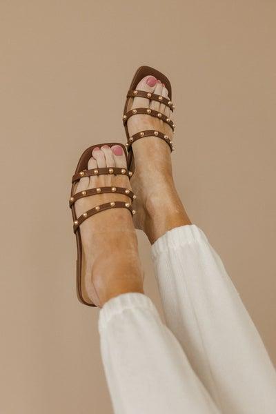 Summer Fun Studded Strap Sandal