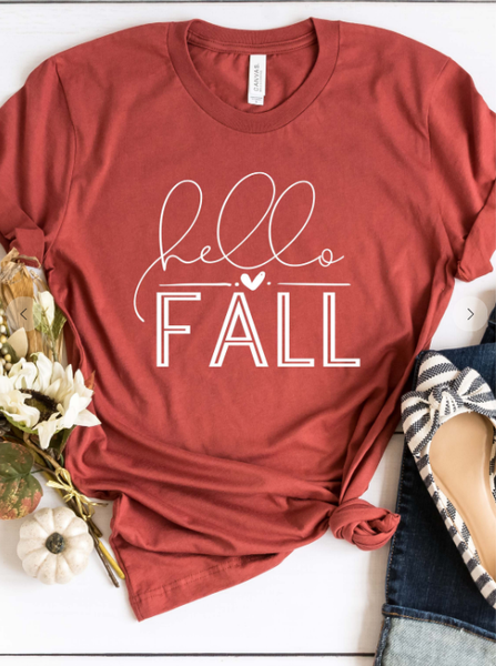 Hello Fall Graphic Tee PRE-ORDER