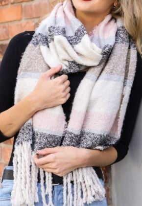 Chill in The Air Blanket Scarf