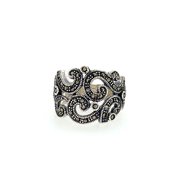 Bold Pave Band Ring