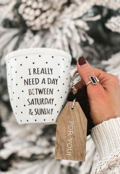 Saturday & Sunday Mug
