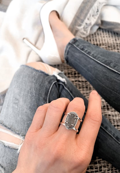 PRE-ORDER: Krush Kandy Exclusive Double Band Druzy Ring