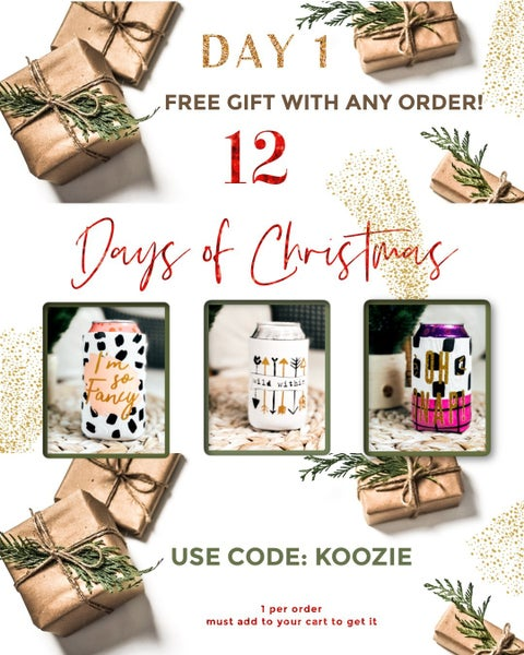 (3 options!) *FREEBIE W/ ANY Purchase* Cute Can Cover use code KOOZIE