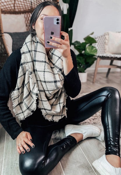 Night Out In Boston Blanket Scarf