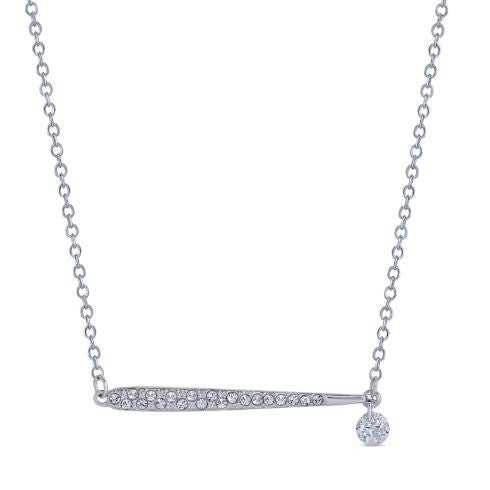 Fancy Bar Swarovski Necklace