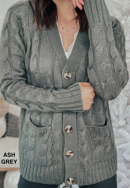 (S-3X!!) Knits About You Cardigan