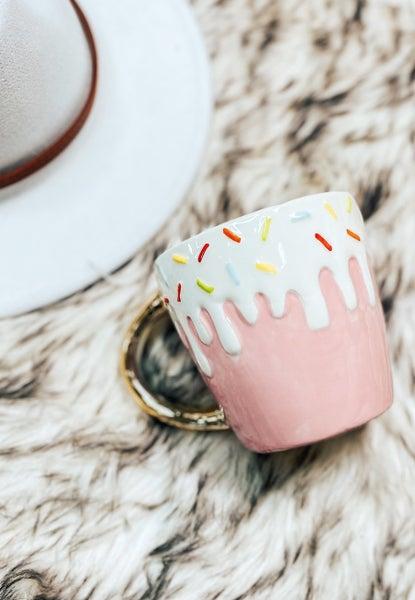 ( 2 colors!) Ice Cream Sprinkles Mug