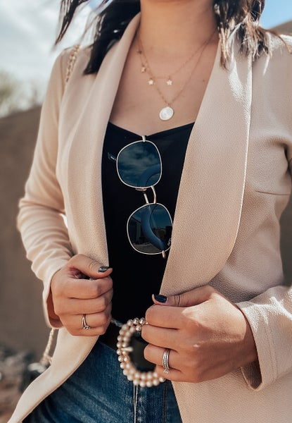 (S-3X & 3 colors!) Boss Babe Tailored Blazer