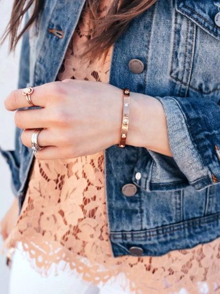 Bling Bangle Bracelet