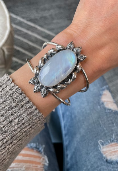 Krush Kandy EXCLSUIVE: Rainbow Moonstone Cuff