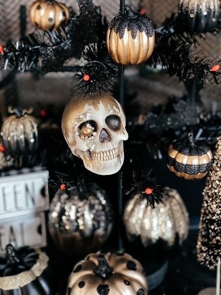 Skull Place Card Holder
