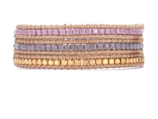 Square Cut Wrap Bracelet