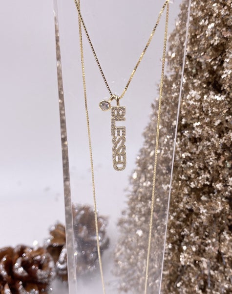 Be Blessed Necklace