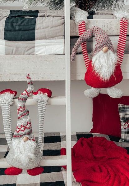 Plush Christmas Hanging Gnomes