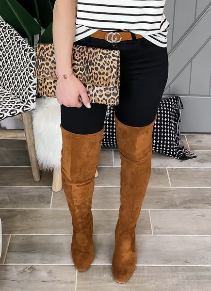 (4 colors!) Over the Knee Drawstring Boots