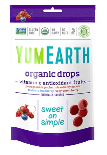 YumEarth Organic Vitamin C Antioxidant Fruit Drops