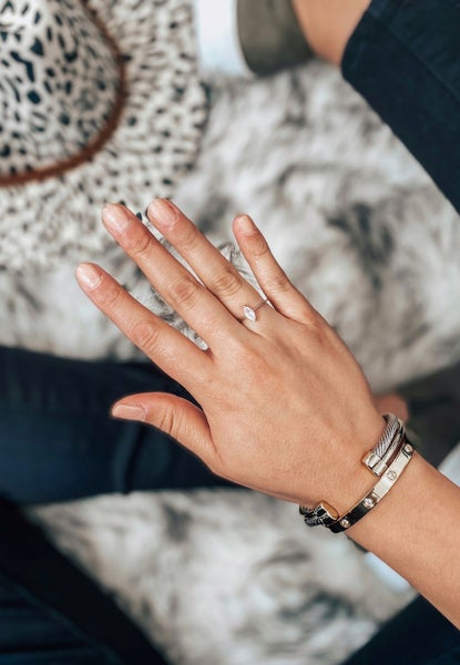 DOORBUSTER: (4 shapes!) Exclusive Dainty Moonstone Ring