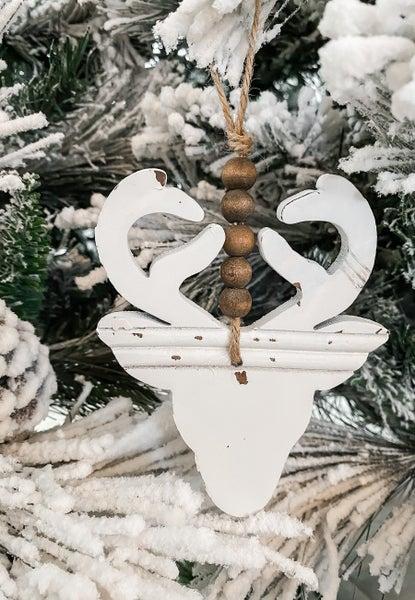 Deer Beaded Ornament