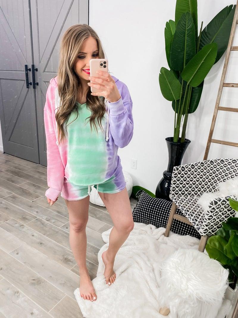 Cutest Tie-Dye Shorts