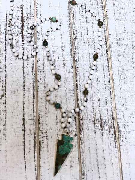 Genuine Stone Necklaces