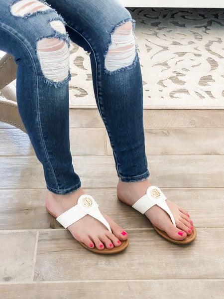 Perfect White Summer Sandal
