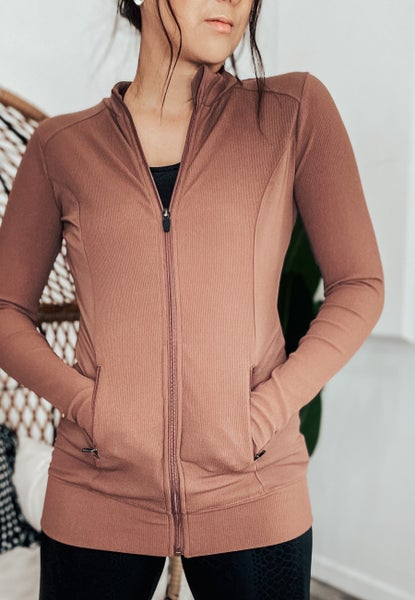 (3 colors!) This Is Your Moment Ribbed Jacket