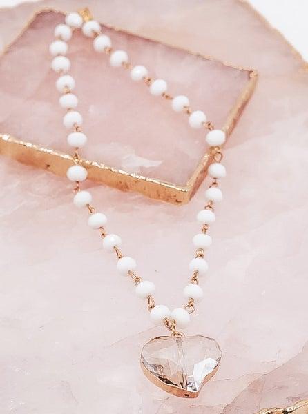 Gorgeous Gem Heart Necklace