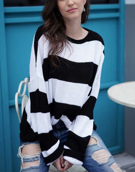 Super Stripe Sweater