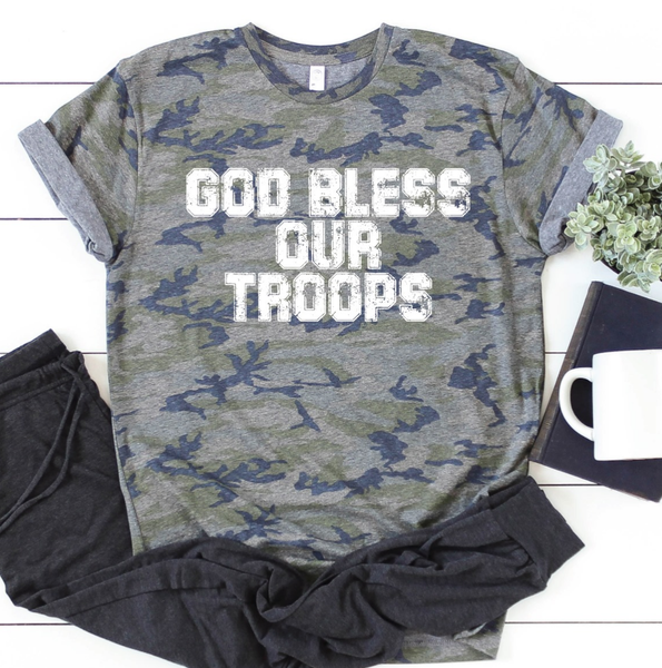 (S-3X) God Bless our Troops Graphic PRE ORDER