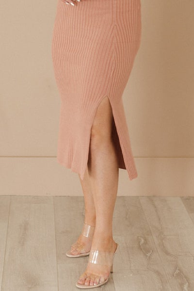 Let's Be Clear Classy Nude Heel