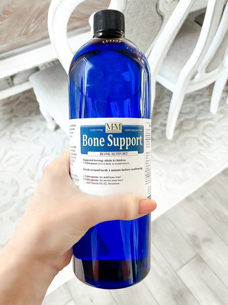 Bone Support Mini Minerals Kristyn takes (16 oz bottle)