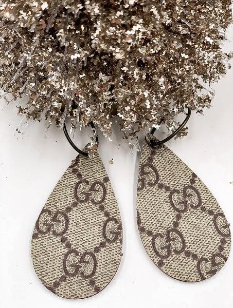 Upscycled Gucci Earrings
