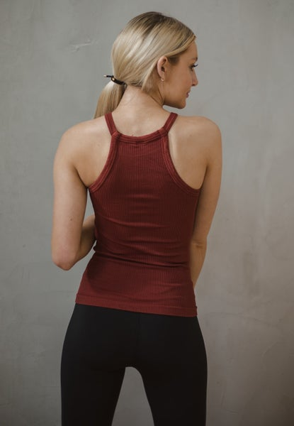 The Good Life High-neck Ribbed Tank