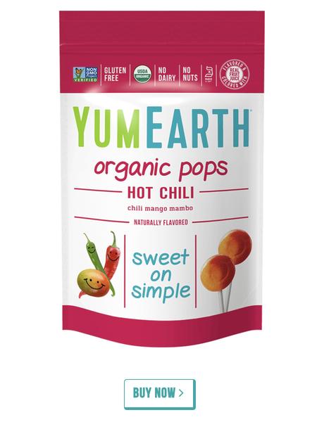 YumEarth Hot Chili Mango Mambo Pops